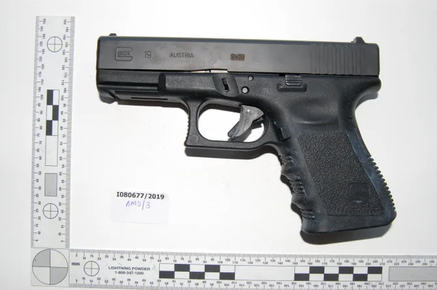 Sutton pair jailed for total of 17 years after gun found in Louis Vuitton bag