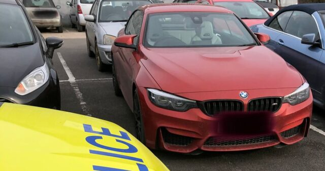 BMW driver from London 'walking home' after car seized in Gloucestershire