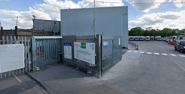 The Household Reuse and Recycling Centre at Villiers Road, Kingston