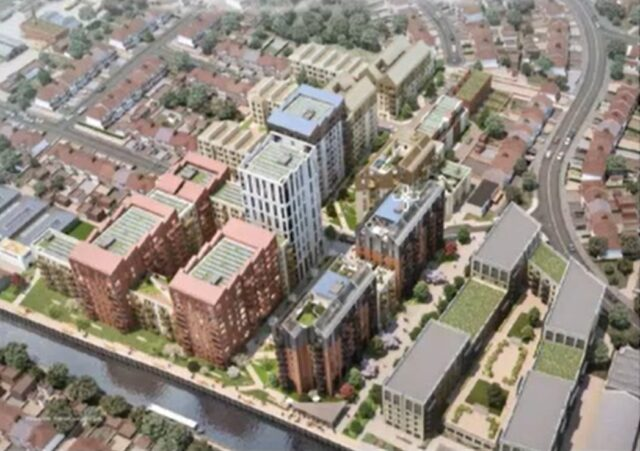 Brent Council approves plans at Abbey Manufacturing Estate