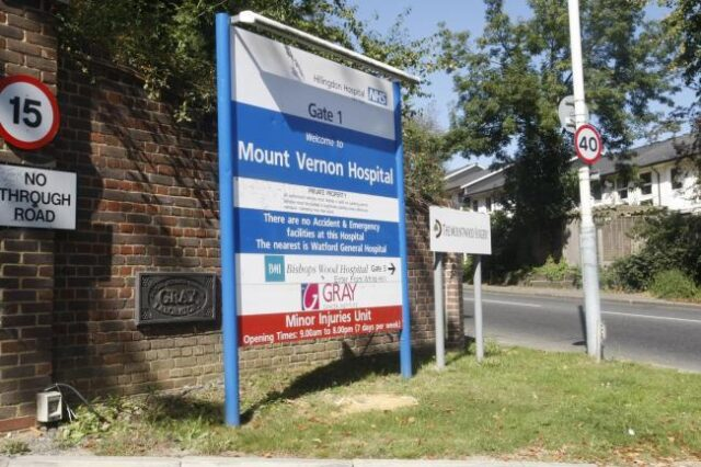 NHS could transfer Mount Vernon cancer services to Watford
