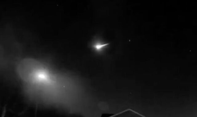 London meteor burns up over sky in capital in dramatic scenes - 'Stunning!' | UK | News