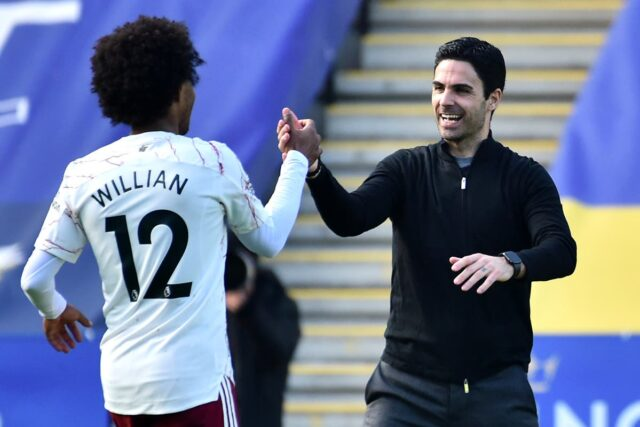 Willian steps up for Arsenal FC to show why Mikel Arteta worked so hard to sign him