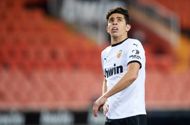 Gabriel Paulista is at the heart of a Valencia defence which is seriously struggling