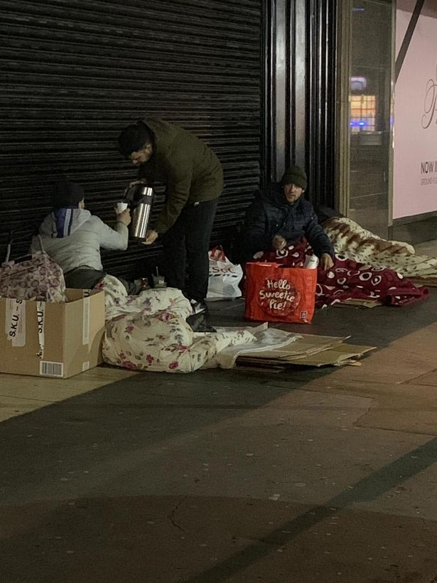 Romanian man sleeping rough under shower curtain in East London able to fly home as residents rally together to raise £600