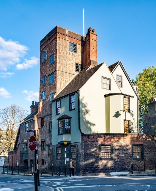 Canonbury Tower: The incredible Tudor building considered a skyscraper of its time