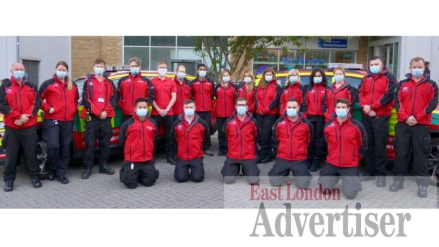 Tower Hamlets and Newham emergency responders up for award
