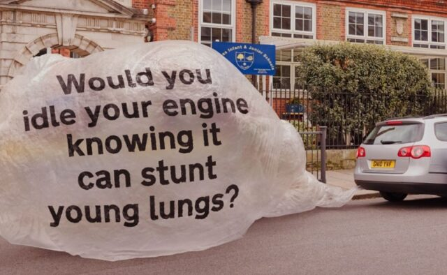 Idling Action London urges drivers to switch off their engines