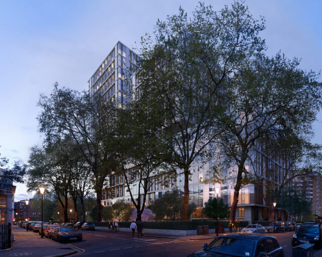 Client cans twice-approved SimpsonHaugh Kensington hotel